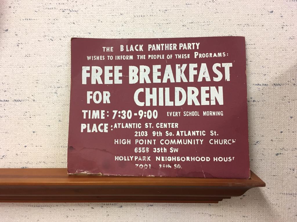 Black Panthers Free Breakfast
